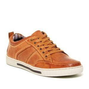 Steve Madden Paxxtin Leather Sneakers
